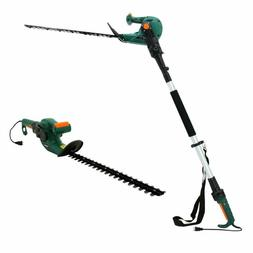DOEWORKS ELECTRIC CORDED 3 IN 1 EXTENDED HEDGE TRIMMER ON PO