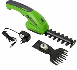 Electric Hedge Trimmer 7.2V 90mm Rechargeable Comfortable Co