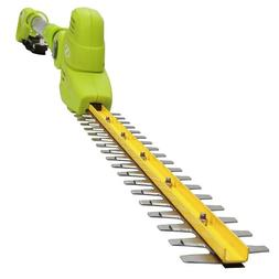 Electric Hedge Trimmer Corded Telescoping Pole Pivoting Head