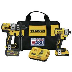 DEWALT FLEXVOLT 60V and 20V Li-Ion Cordless Brushless Combo