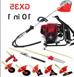 Gx35 Backpack 10 in 1 Multi garden Brush Cutter whipper snip