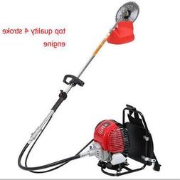 GX35 backpack gasoline 4 stroke brush grass cutter <font><b>