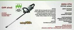 Hedge Trimmer Battery Powered Htx 6500 Series Ego With IN Th