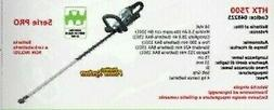 Hedge Trimmer Battery Powered Htx 7500 Series Ego With IN Th