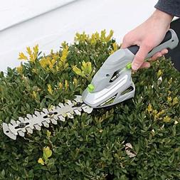 HOT~Earthwise Cordless Rechargeable 2-in-1 Shrub Shear and H