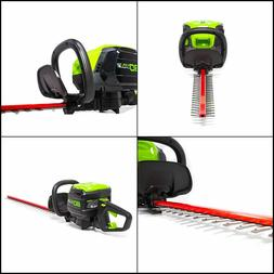 GreenWorks HT80L00 80-Volt 24-Inch DIY Hedge Trimmer - Bare