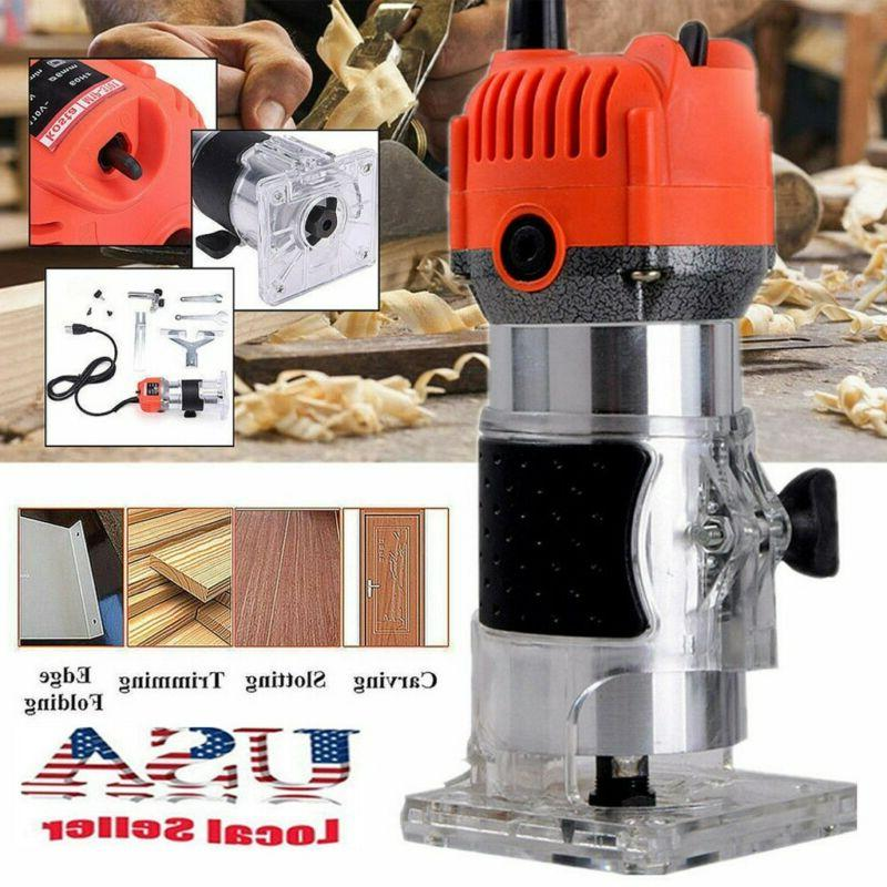 1 4 electric hand trimmer wood laminate