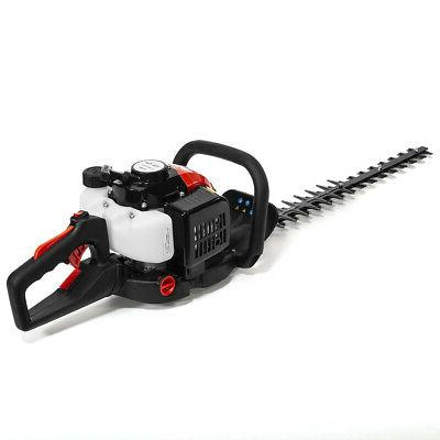 26cc Hedge Trimmer Double-Sided Blade Recoil Gasoline Trim Blade