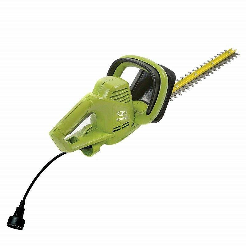 SNOW JOE AMP ELECTRIC HEDGE TRIMMER, GREEN