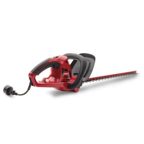 "22"" Corded Electric Hedge Trimmer Lightweight Dual Action"
