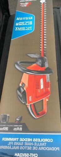"""ECHO 24"""" 58-Volt Lithium-Ion Brushless Cordless Hedge Trimme"""