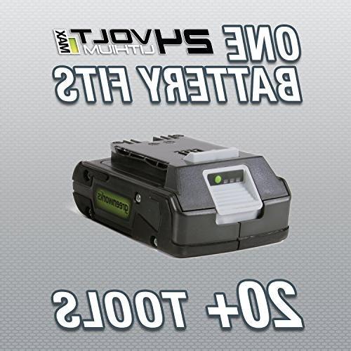 Greenworks 24 24V in. Dual Trimmer