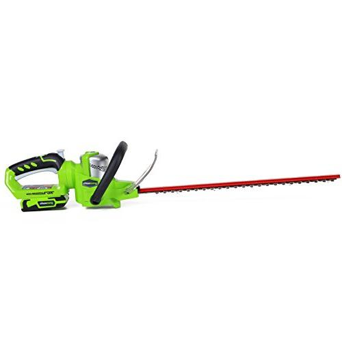 Greenworks 22232 G 24V Cordless Lithium-Ion in. Dual Trimmer