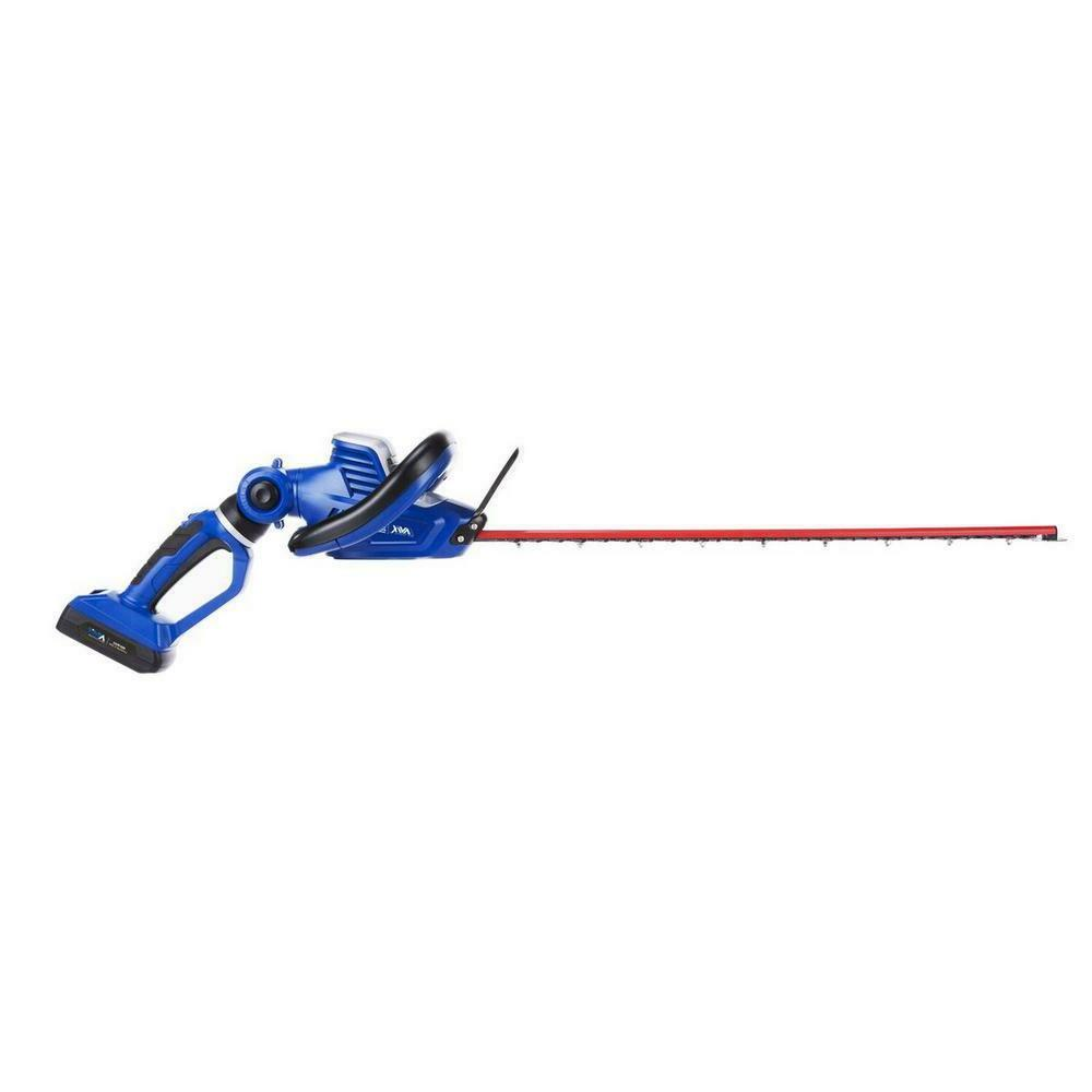 24 Cordless Hedge with Rotating Handle charger