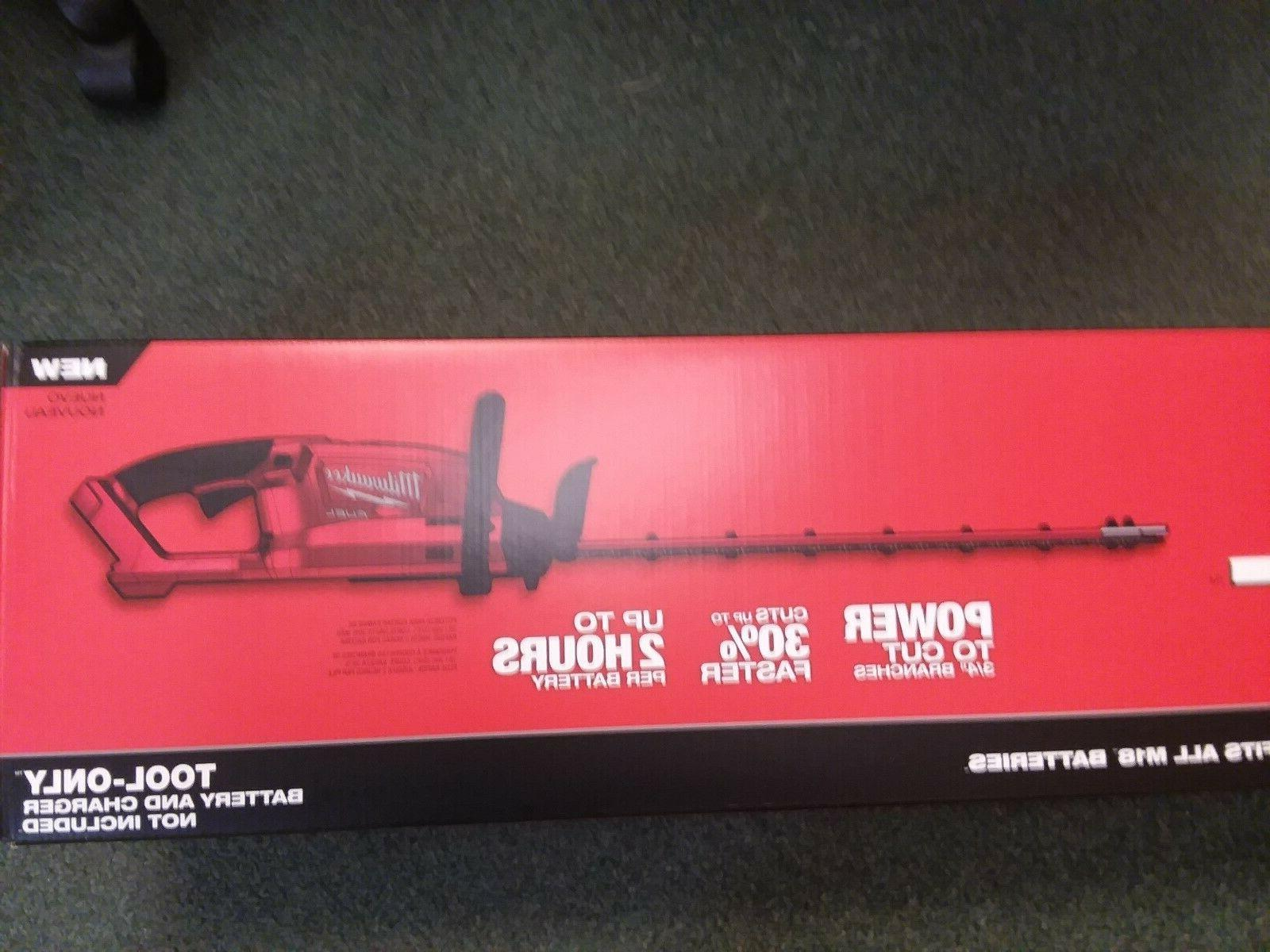Milwaukee M18 FUEL Hedge Trimmer Cordless NEW