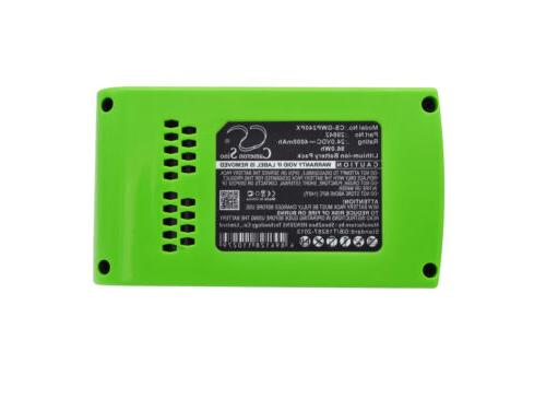 29322 Battery for GreenWorks G24/G-24/22-Inch Cordless Hedge