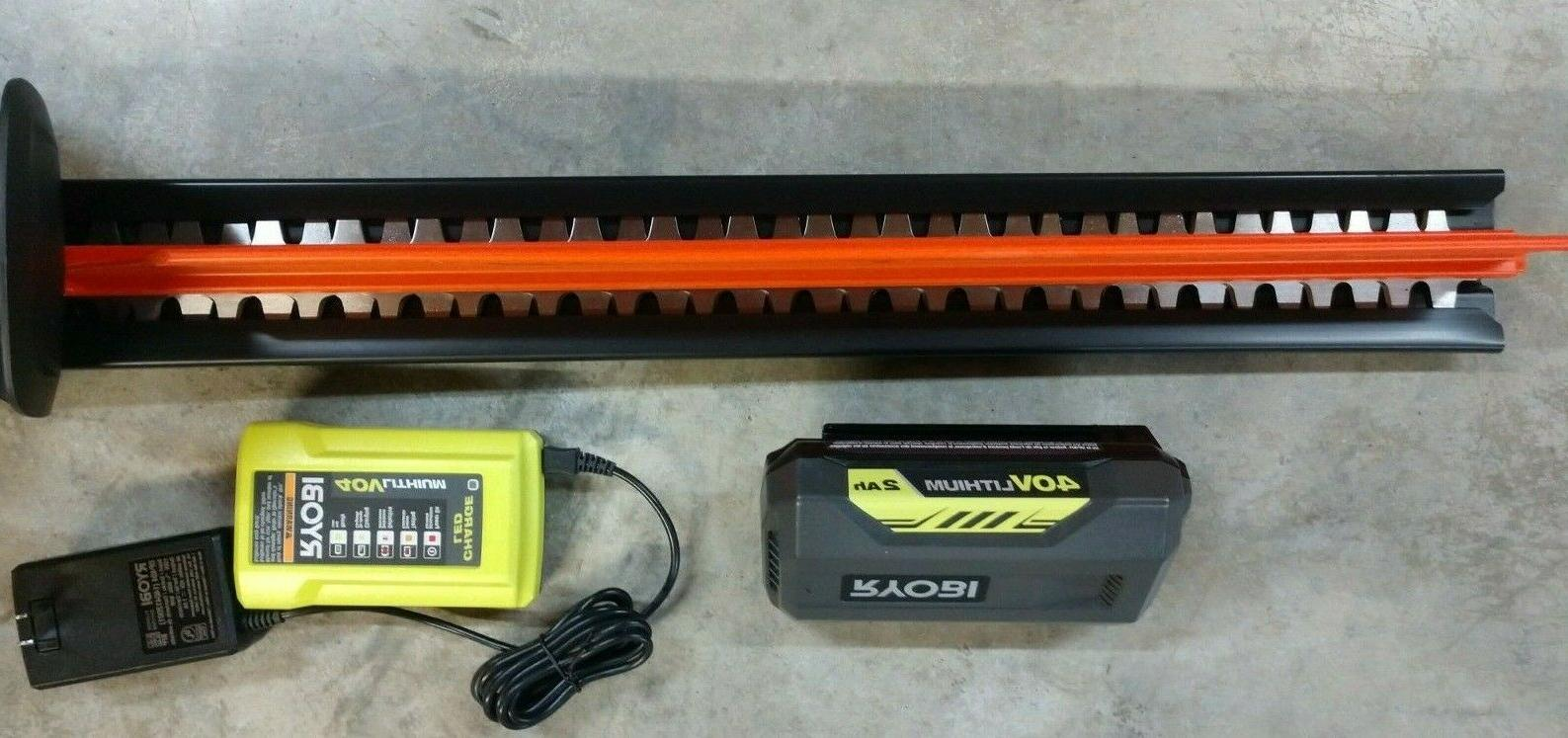 "RYOBI 24"" Trimmer Battery & RY40602"
