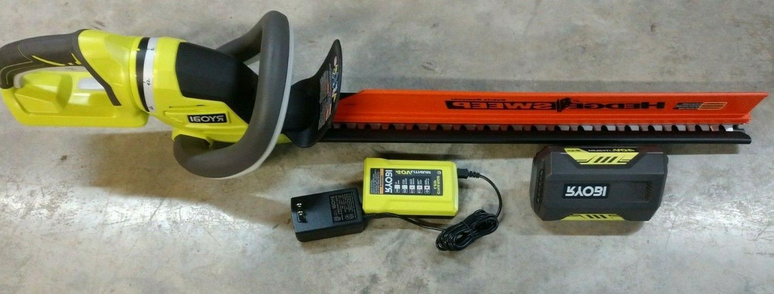 40v 24 hedge trimmer kit w 2