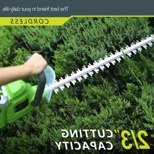 Electric Cordless String Edger Grass Weed w/ Battery