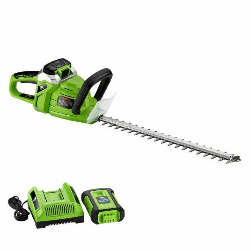 "Best Cordless Bush Hedge Trimmer 20"" +Battery"