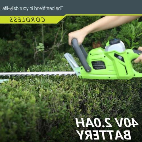 "Electric 20"" 20V String Grass Weed Cutter Battery"