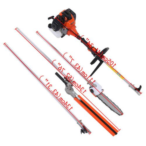 5 in Petrol Hedge Brush Cutter Multi Purpose