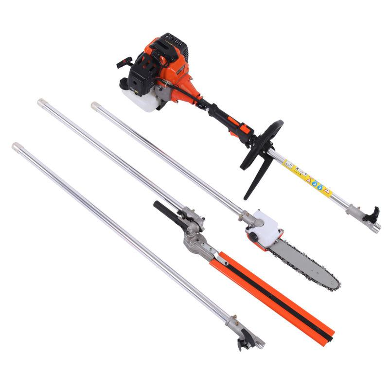 5 in 1 Petrol Hedge Brush Cutter Pole Saw Outdoor
