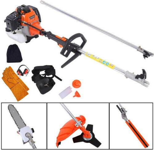 Multifunctional 52cc Chainsaw Brush Pole Trimmer