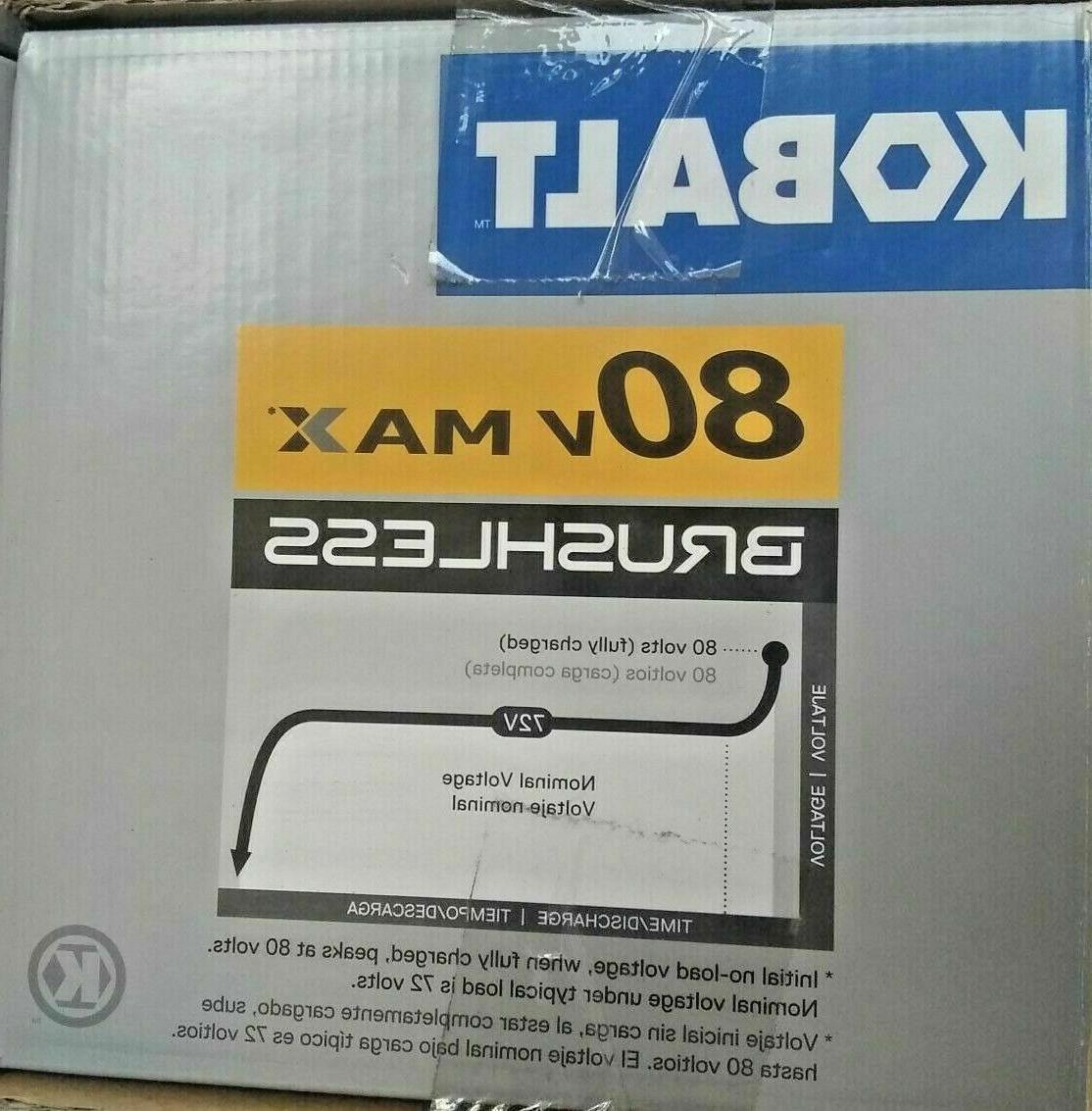Kobalt Max Hedge Battery & Brand New