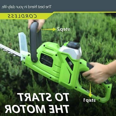 Best Partner 20'' 40V Max High Hedge Trimmer