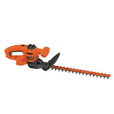 black and decker 17 in electric hedge