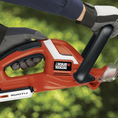 Black MAX Li-Ion 22 in. Hedge Trimmer LHT2220B