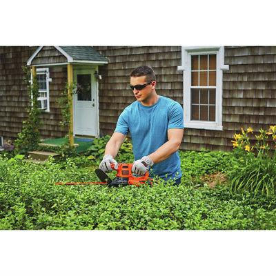 Black & Decker Hedge Trimmer BEHT100 New