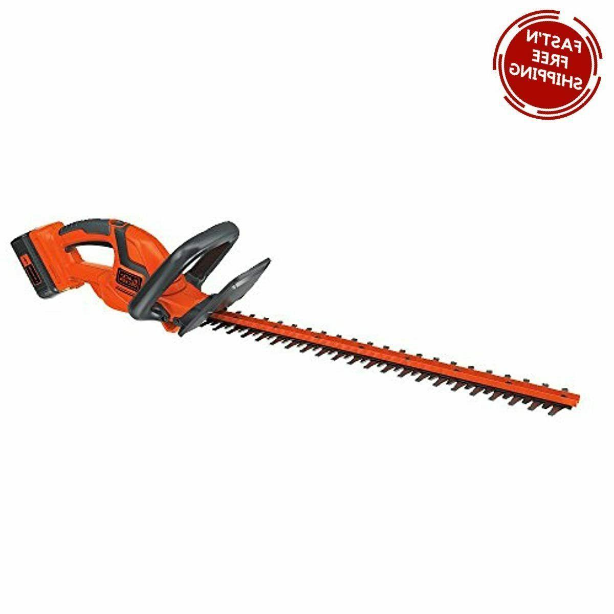 black decker 40v max cordless hedge trimmer