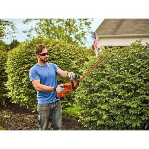 BLACK+DECKER Cordless Hedge Trimmer,