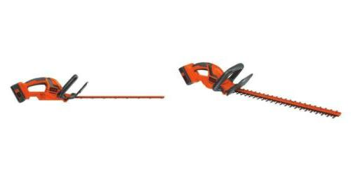 black decker lht2240cff 40v max cordless hedge
