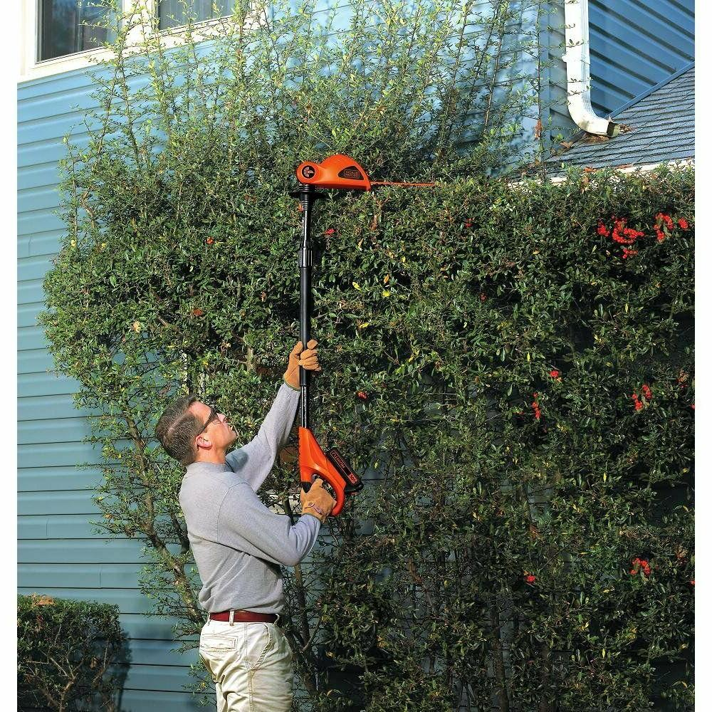 BLACK+DECKER LPHT120B Lithium Ion Pole Hedge