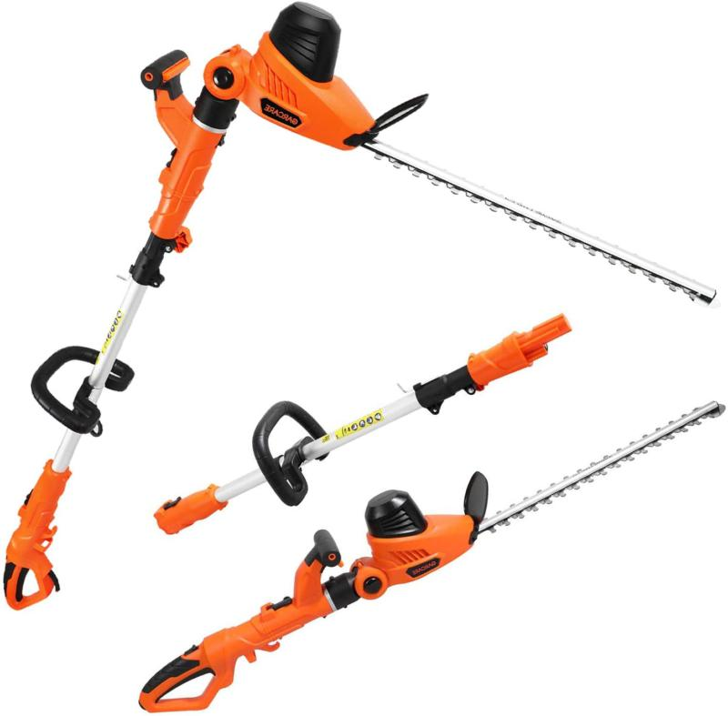corded pole hedge trimmer 4 8a electric