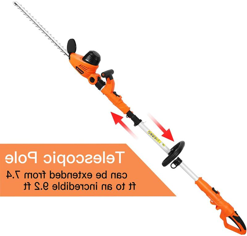 Garcare Trimmer 4.8A Hedge Trimmer 1 Corded