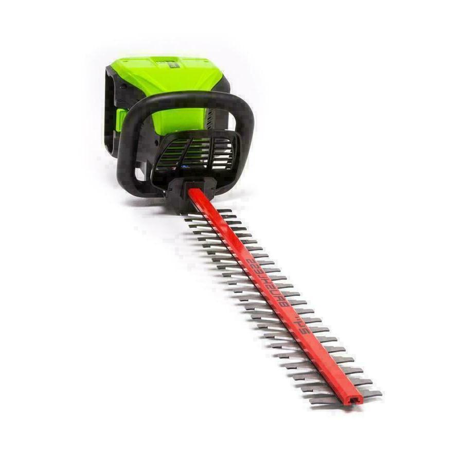 Cordless Electric Hedge Trimmer Greenworks Pro 60v Trimmer M