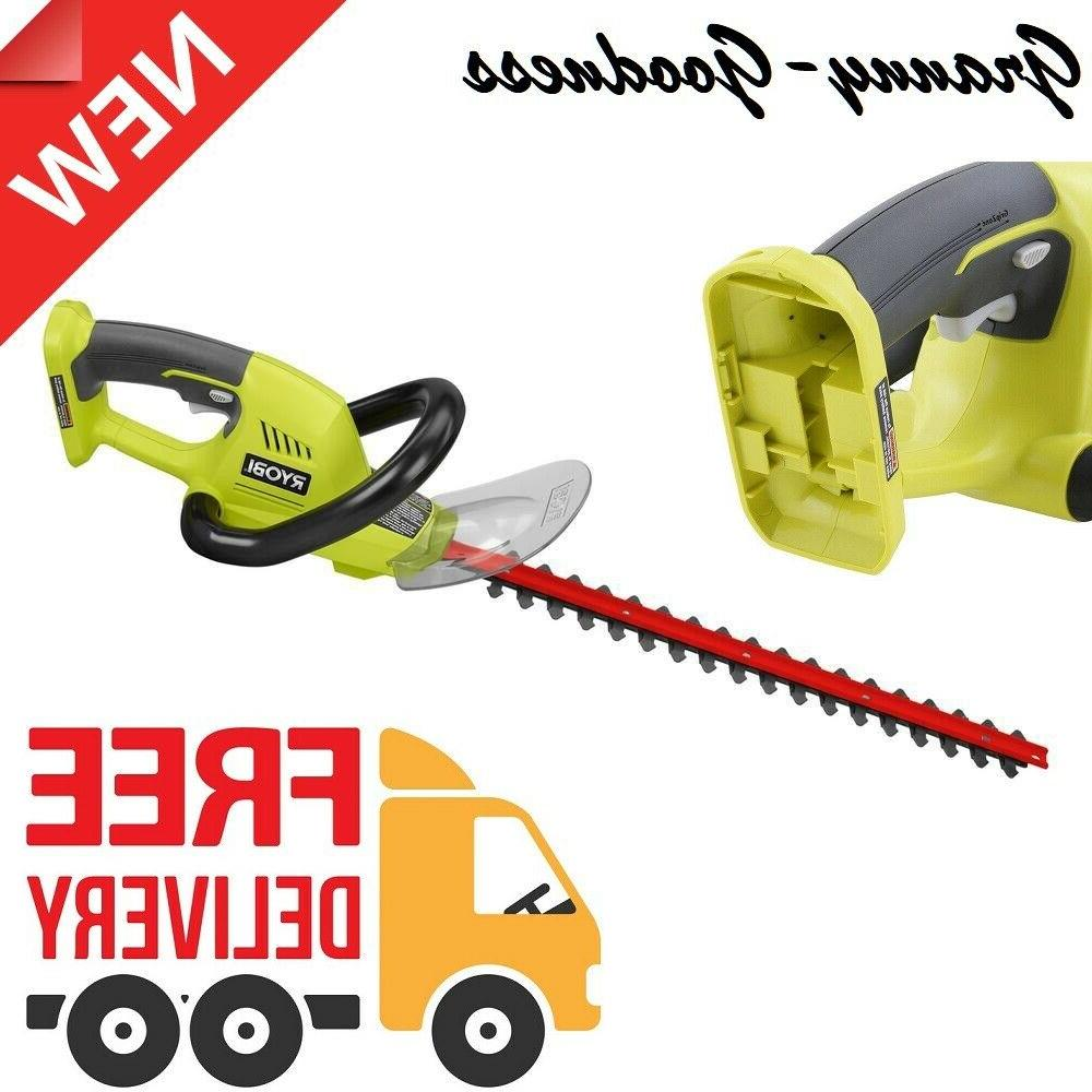 cordless hedge trimmer 18 in 18v electric