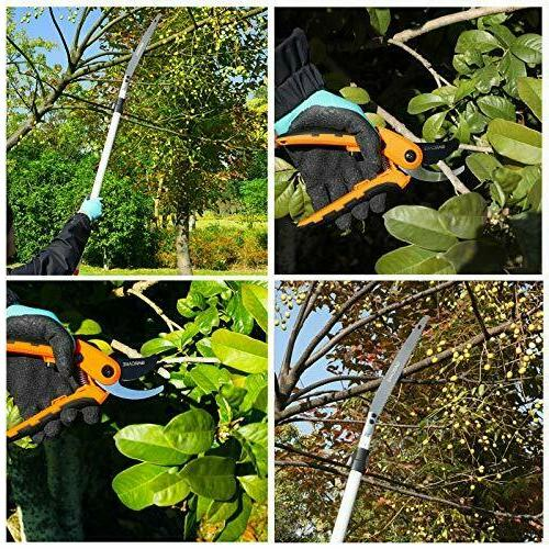 GARCARE Trimmer Electric Hedge Trimmers Telescoping