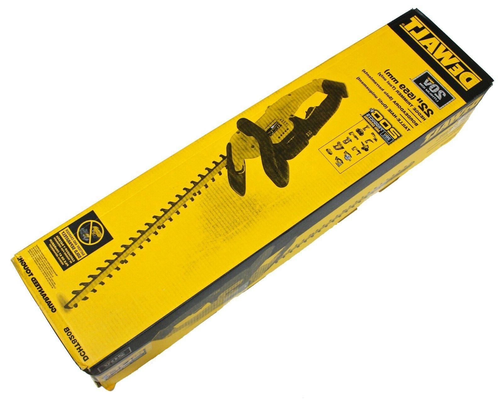 dcht820b 22 hedge trimmer tool only