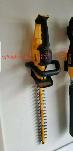 dewalt 20v max hedge trimmer wall mount