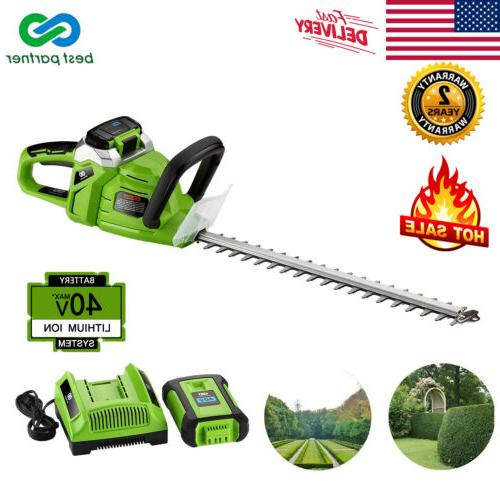 electric 20 20v cordless string trimmer lawn