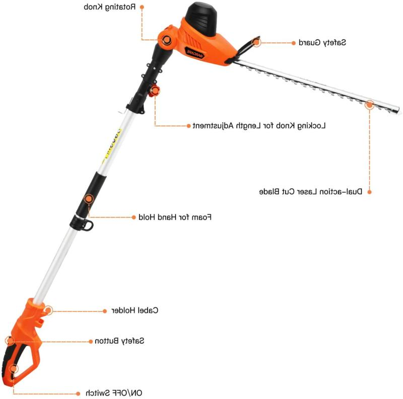 Garcare 4.8A Hedge Corded |