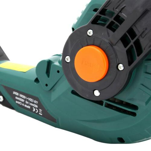 "Electric Corded Hedge Trimmer 18"" Dual in Multi-Angle Pole"