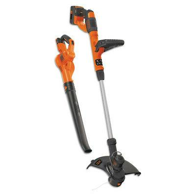 Black & Decker LCC340C 40V MAX Lithium Hedge Trimmer and Swe