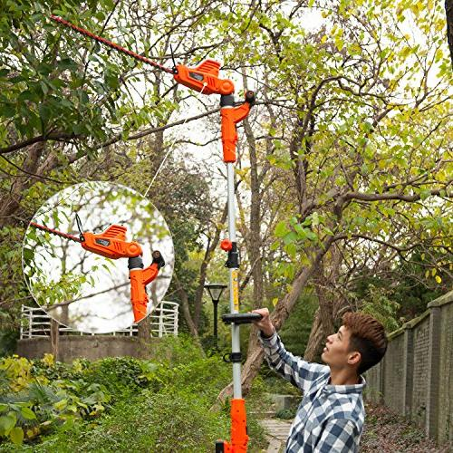 2 in 1 and Portable Hedge with Laser Blade