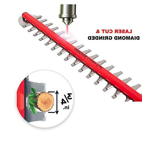 GARCARE 20V Li-ion Cordless Pole 20-Inch Laser